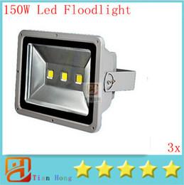 High Power 150W IP65 Waterproof Super Bright Outdoor Led Flood Lights Floodlights Including Memory Function Landscape Lamp AC 85-265V