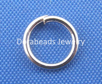 Wholesale Silver Plated Open Jump Rings mm Dia B00313
