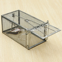 Wholesale High Sensitivity Mouse Rat Mice Live Trap Cage Control Rodent Animal Catch Baits Metal Material