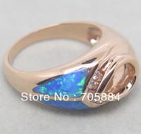 Gold Ring 14K SOLID 14kt ROSE GOLD NATURAL DIAMONDS WEDDING ENGAGEMENT & OPAL SETTING SEMI RING MOUNT G090486