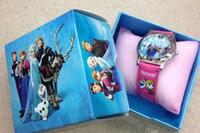 Wholesale best selling FROZEN children watch Boxed children birthday gift frozen watch amp frozen elsa New frozen Watches