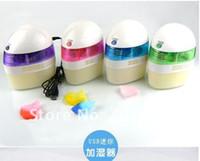 Wholesale Cute Mini USB Home Room Car Air Humidifier Moist Filter anion humidifier power adapter CN post