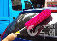 Cheap magic multi Microfiber Chenille car duster Combo Dash Brush Easily Removes cleaner tool household wipe wholesale retail