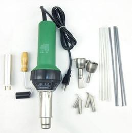 Wholesale w Plastic Welder Gun Hot Air Vinyl Bonus Speed Welding Nozzle ExtraHE Rod