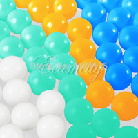 Wholesale 40pcs No word plastic lottery for Ping Pong ball colorful Beer Pong lucky dip gaming lottery Table Tennis lucky draw Wiff Waff