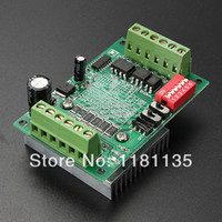 Cheap Free Shipping TB6560 3A 10V-35V Driver Board CNC Router Single 1 Axis Controller Stepper Motor Drivers