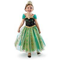 Wholesale 2014 new summer Frozen princess Dresses Anna Long sleeved dress with shawls cm cm