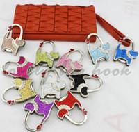 Wholesale Fedex high quality pure glitter shining love cat purse handbag hook bag hanger holder hook bag hook FH24