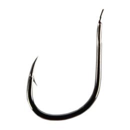 100pcs lot High Carbon Steel Fishing Hook Pack Carp Fishing Tackle BAITHOLDER HOOK black color Jig Big
