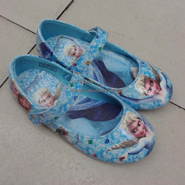 Wholesale Frozen Shoes For Girls Kid Shoes Children Casual Shoes Kids Footwear Girl Shoes Childrens Shoes Kids Casual Shoes Child Shoes Girl Footwear