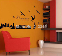 Wholesale Saturday Mall Sydney Harbour Bridge in Australia fashion home decoration wall stickers art deco architectural design