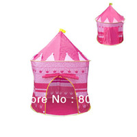 Cheap Great Gifts!! Outdoor Beach Baby Tent, Children Kid Toy Play Game House, Princess Prince Castle Toys Tents Pink 7378