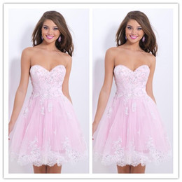 Wholesale 2014 Ball Gown Sweetheart Homecoming Dresses Sweet Short Zipper Natural Waist Sleeveless Woven Sequins Tulle Modern Party Gowns PM03