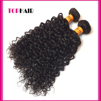 curly human hair extensions - Top Quality A Peruvian Curly Virgin Human Hair Weave DHL Peruvian Hair Extension