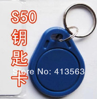 Wholesale 10PCS HF MHz Proximity RF NFC Smart IC Key Fobs Tags Cards keychains For Channel Access Control Door Lock