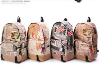 Wholesale good shoulder bag men rucksack canvas backpacks for girls korean style backpack school backpack