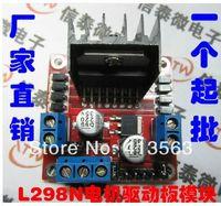 Cheap Wholesale 10pcs  lot L298 Module L298N Dual Bridge DC stepper Controller Control Motor Driver module Board 30348