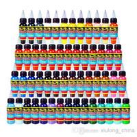 Wholesale Xiulong Tattoo Ink Colors Set oz ml Bottle Tattoo Pigment Kit