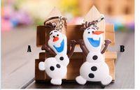 Wholesale 2014 best gift HOT sell Frozen anna elsa key chains Children s kids key chains girls keychains