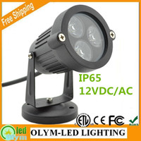 Wholesale 2Pcs Active Demand W Outdoor High Power Garden Park Lawn Led Lamp V for Landscape Lighting RGB Warm Cold White Waterproof IP65 Path Light