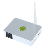 Wholesale Measy A5A Allwinner A10 GHz Android TV Box H Media Player P HDMI Internal WiFi IPTV Box Google Smart TV Box Newest