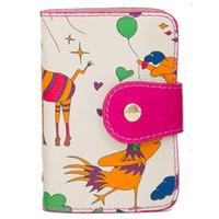 Wholesale Famous Brand Bromen Design Women Card Wallets Bag Ladies Day Clutch Credit Card Holder Passport Case Handbags Three Colors