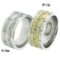 Wholesale Movble five in one ring gold and steel color very special jewelry China Factory Direct men ring low MOQ