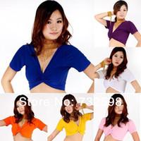 Cheap Sexy Women Tribal Belly Dance Dancing Yoga Costume Choli Top Blouse Bra 9 Colors Dropshipping Free Shipping