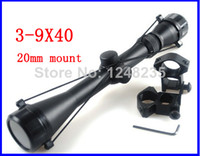 airsoft gun rifle - Airsoft Scope x40 Hunting Mil Dot Rifle Gun Optics Sniper Deer Hunting Scopes mm Rail Mounts