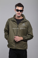 Wholesale Hot Sale Tactical Coats Men Waterproof Green Hiking Camping Jackets for Man Hot