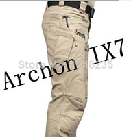 tactical pants - Men ESDY Archon IX7 Military Outdoor Tactical Pants Men Army Training Combat Outdoor Trousers