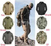 Wholesale TAD V Lurker Shark skin Hunting Camping Waterproof Windproof Jacket Sports Coat Army Clothing S M L XL XXL