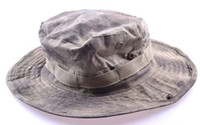 A-TACS military hats and caps - A TACS Boonie Hat Fishing Jungle Military Cap With Four Screened Side Vents and Branch Loops