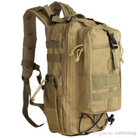 Wholesale Excellent quality L Outdoor Military Tactical Rucksack Backpack Outdoor Camping Hiking Hunting Trekking Bag Outdoor Sports bag