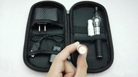 Cheap 2014 Christmas Promotion Gift Electronic cigarette eGo kit eCig set kit 2 in 1 wax and dry herb 2 vaporizer pen Glass Globe AGO G5 atomizer