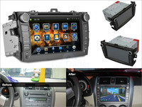 Gps Navigator australia units - solid Car Dash DVD Head Unit Stereos System for Toyota Corolla GPS quot Touch Screen