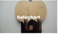 Wholesale 2PCS STIGA AC pingpong balde ALLROUND WOOD NCT CS FL table tennis racket High quality