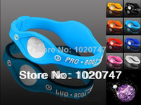 Precio de Venda de la energía del silicón del balance-Mayorista-MN-l.azul Pulsera de Silicona con un Holograma Pulseras de Bandas de Energía el Balance de Energía de la Pulsera Con el Envío Gratuito