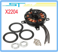 Wholesale Low shipping fee hot Sunnysky X2204 KV1480 kv1800 rc Brushless Motor For RC helikopter Airplane Quadcopter milti rotor