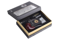Cheap Newest EPipe 628 Electronic cigarette 510 eGo thread 350mAh wood color Ehookah vs E-pipe 618 epipe