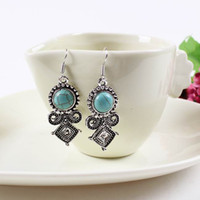 Wholesale 5PCS Vouge Female Earring Turquoise Jewelry Dangle Stud Earing SE042