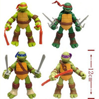 Wholesale Teenage Mutant Ninja Turtles Action Figure Toys Classic Cartoon Toy Dolls inch set