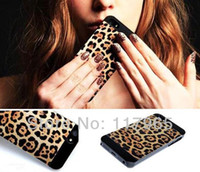 Cheap Min.order is $10 (mix order) Hard Leopard Print Skin Protector Shell Cover Case for Apple iphone 4 4S 5 5S DY93