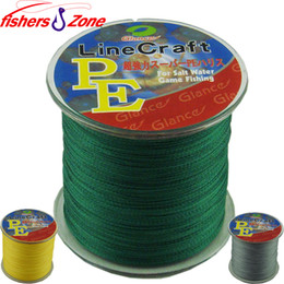 Wholesale 300M fishers zone Super Strong Japanese Multifilament PE Braided Fishing Line LB fishing line