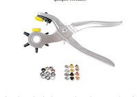 Wholesale 1sets Roto Holes Add Eyelets fixing broken snaps punching holes in complete home Pliers tool