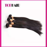 Wholesale Indian Remy Hair Wholsale Human Hair Weave Straight Indian Virgin Hair Weft Extensions g pc A Grade quot quot Bulk In Stock