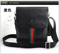 Wholesale New fashion brand GG messenger bag men genuine leather men bag casual travel shoulder bag for men
