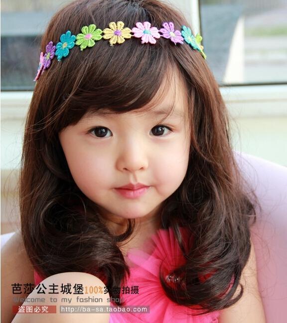 2018 Cute Children Wigs Princess Girl Long Straight Long
