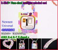 Original R- SIM 9+ R- SIM9+ plus Nano- cloud intelligent unlock...