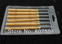 Wholesale Hair Extension Tools Hair Extension Hook Needle wig crochet wooden handle Hook m06